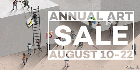 DELJOU ART GROUP'S Annual Art Sale (AUGUST 10 - 22) tickets