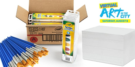 Watercolor Supplies for Art in the City Tutorial tickets