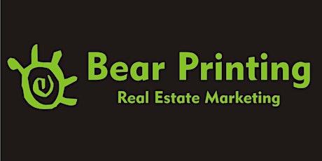 Bear Printing Webinar 8/20- 1pm tickets