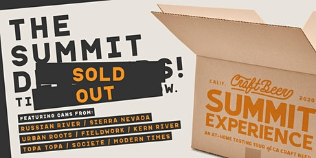 Craft Beer Summit Experience – An At-Home Tasting Tour of CA Craft Beer tickets