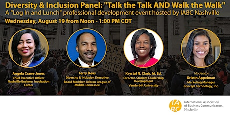 Diversity & Inclusion Panel: Talk the Talk AND Walk the Walk tickets
