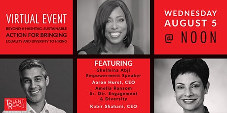 Beyond a Hashtag: Sustainable Action for Equality and Diversity in Hiring tickets