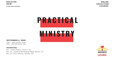 CCSW Learn: Practical Ministry tickets