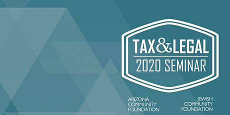 2020 Tax and Legal Seminar entradas