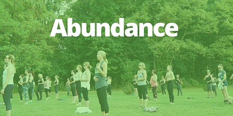 August 11th:  Outdoor Summer Yoga Series. Abundance tickets