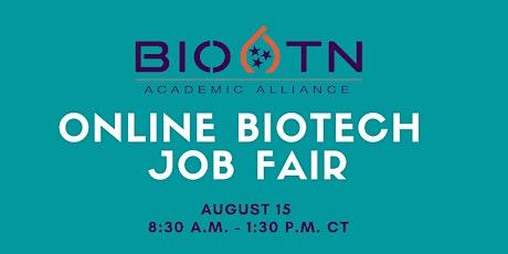 BioTN Academic Alliance - Memphis Chapter's Virtual Job Fair tickets