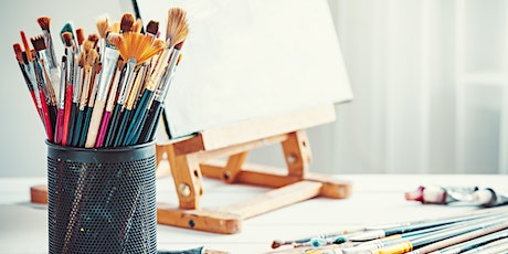 Live Virtual Wellness: Paint Party with April from Loose Brushes tickets