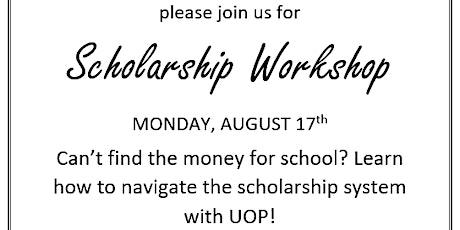 Virtual Scholarship Workshop tickets