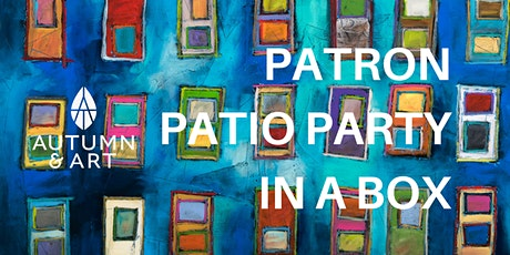 Autumn & Art: Patron Patio Party in a Box entradas