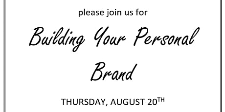 Building Your Personal Brand Workshop tickets