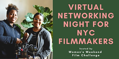 Virtual networking night for NYC filmmakers tickets