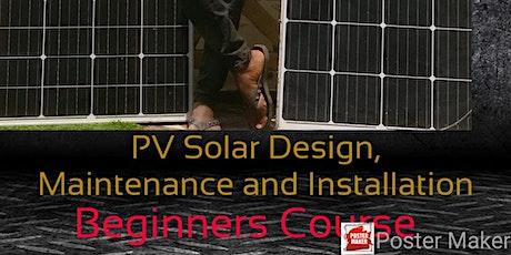 Pv Solar Design Installation and Maintenance tickets