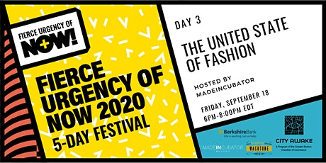 The United State of Fashion – Fierce Urgency of Now! tickets