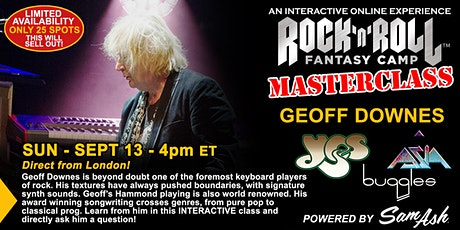 Masterclass with Geoff Downes of YES! tickets