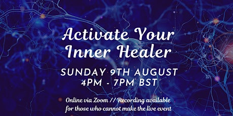 Activate your inner healer // manage your pain & optimise your health tickets