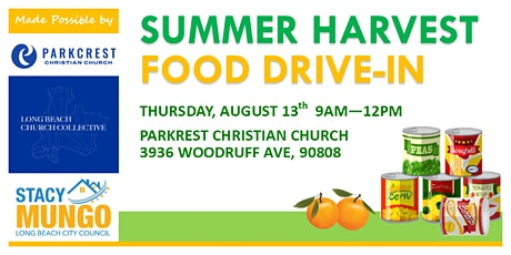 Summer Harvest Food Drive-In tickets