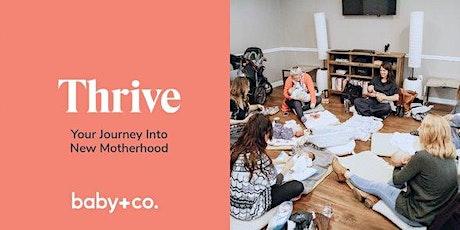 Thrive: Your Journey Into New Motherhood Virtual Class Series 10/7-11/11