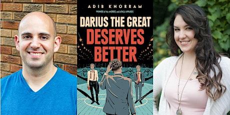 Adib Khorram, Author of Darius The Great Deserves Better ~ LIVE! tickets