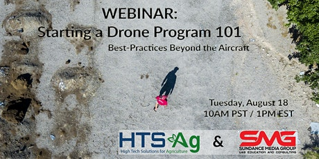 Webinar - Starting a Drone Program 101 tickets