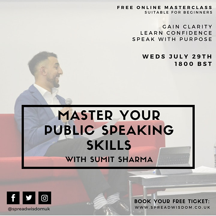 Master Your Public Speaking Skills with Sumit Sharma image