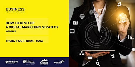 How to develop a digital marketing strategy [webinar] tickets