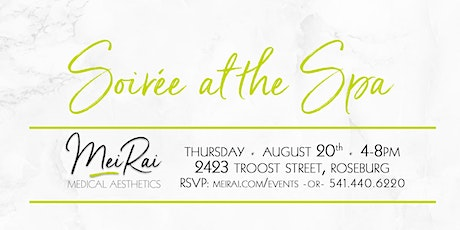 Summer Soiree at the Spa tickets