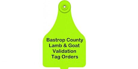Bastrop County Major Lamb & Goat Validation tickets