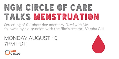 NGM Circle of Care Talks Menstruation tickets