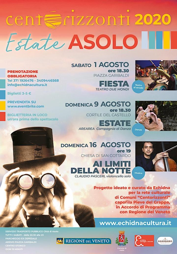 Immagine Centorizzonti Estate Asolo 2020 - AI LIMITI DELLA NOTTE
