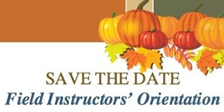Howard Univ. SSW - Field Instructors'   Virtual Orientation (Aug.  2020) tickets