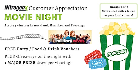 Customer Appreciation Movie Night - Tauranga tickets