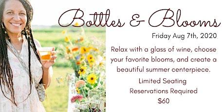 Bottles & Blooms Flower Workshop tickets