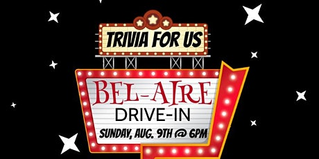 Trivia For Us: Drive-In Edition tickets