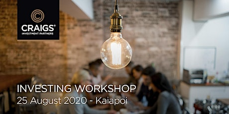 Investing Workshop - Kaiapoi tickets