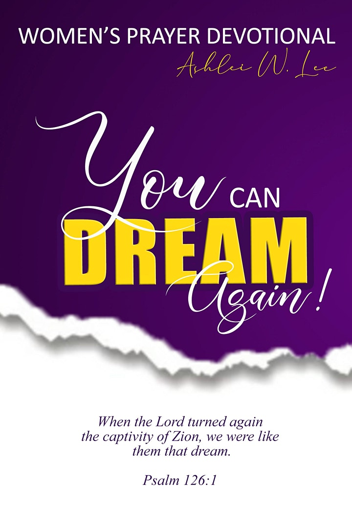 """PreSale of Book, """"You Can Dream Again"""" image"""