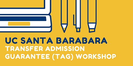 UC Santa Barbara TAG Workshop tickets