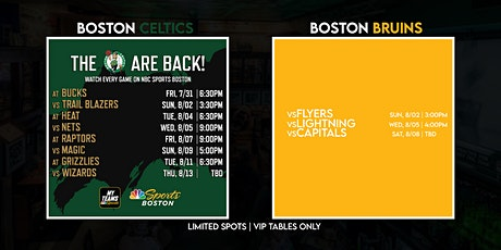 Game Watch for Bruins & Celtics tickets