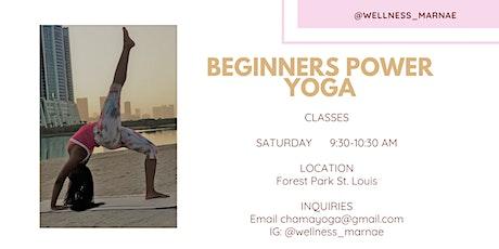 Beginner's Power Yoga tickets