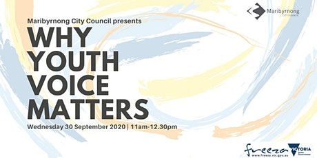 Why Youth Voice Matters tickets