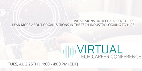 Virtual Tech Career Conference tickets