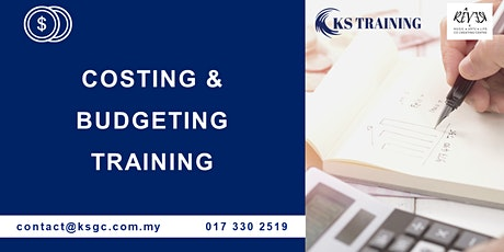 Costing and Budgeting Training [HRDF Claimable] tickets