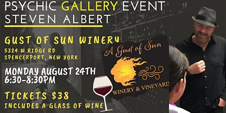 Steven Albert: Psychic Gallery Event - Gust of Sun tickets