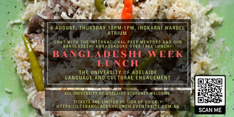 LCE Bangladeshi Week Lunch tickets