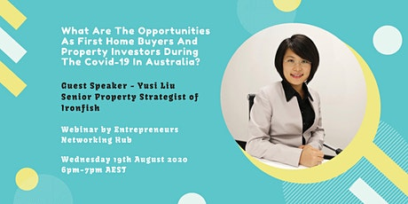 What Are The Opportunities As First Home Buyers And Property Investors... tickets