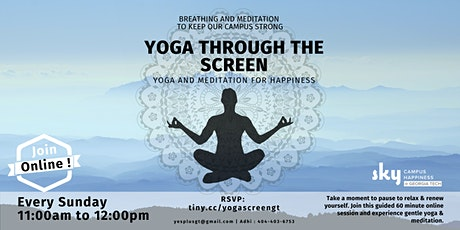 Yoga Through the Screen tickets