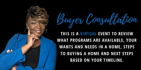 Virtual Home Buyer Consultation with a REALTOR® in VA, MD & DC tickets