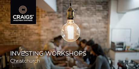 Investing workshops - Christchurch tickets