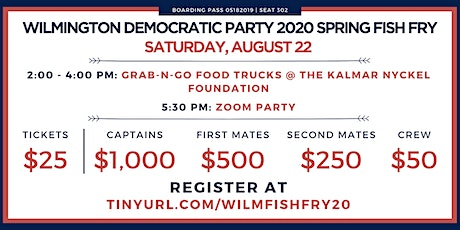 Wilmington Democratic Party 2020 Spring Fish Fry tickets