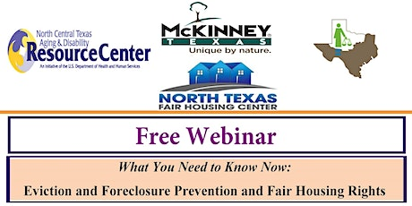 What You Need to Know: Eviction and Foreclosure Prevention and Fair Housing tickets