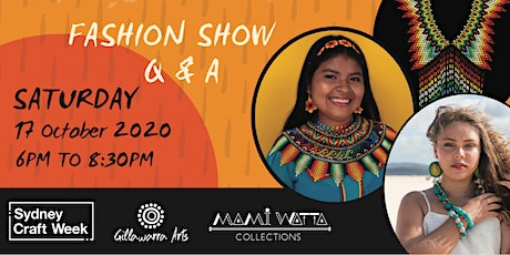 Connecting Cultures- Storytelling through Indigenous wearable art tickets
